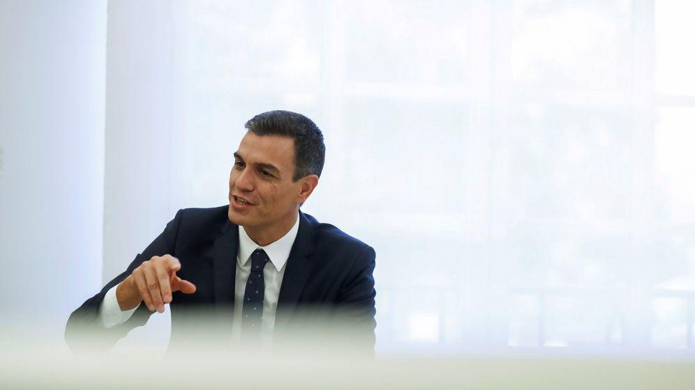 Foto: Pedro Sánchez  ha hecho pública su tesis