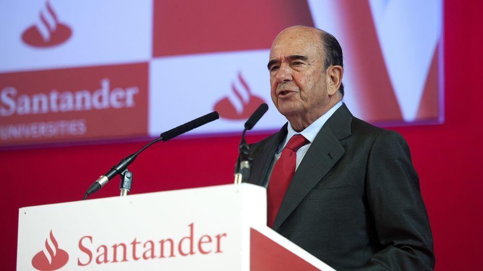 Foto: El fallecido presidente del Santander Emilio Botín, en una fotografía de archivo. (Gtres)