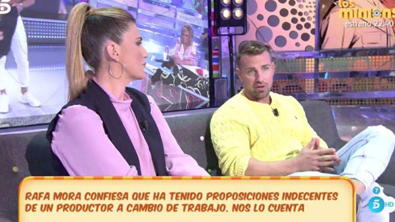 Rafa Mora denuncia acoso por parte de una famoso productor.