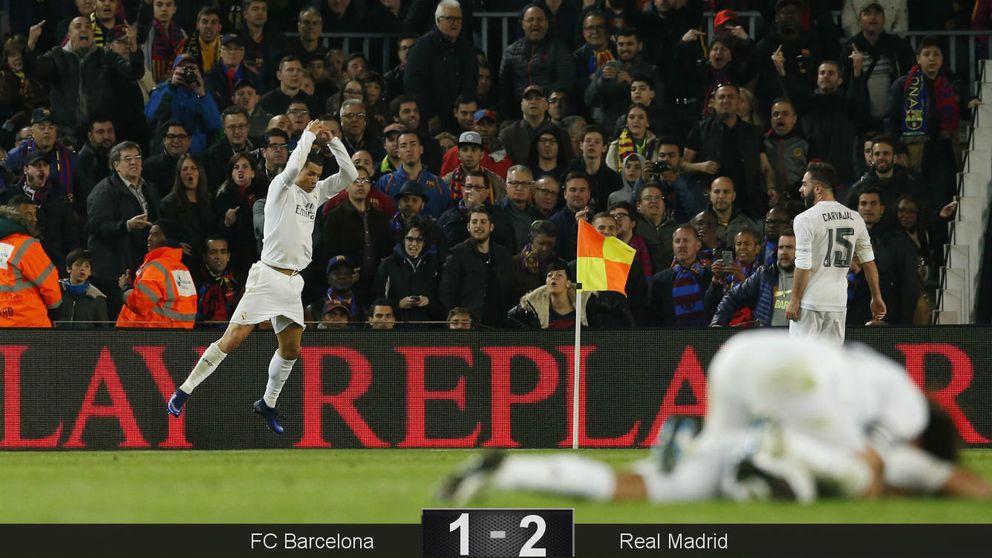 'Cruyffazo' del Real Madrid en el Clásico del homenaje con una gran remontada