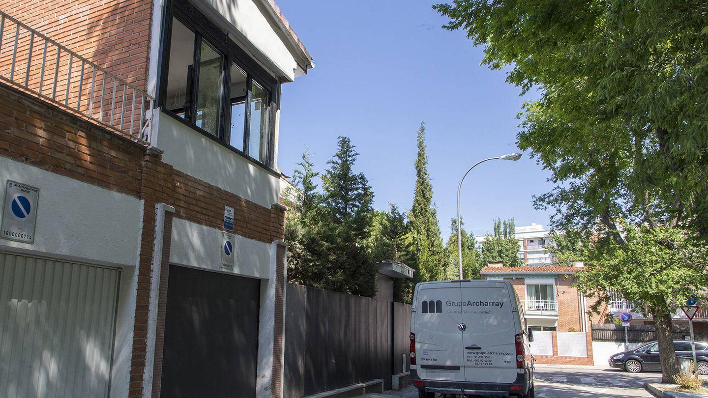 El chalé está en Arturo Soria, una excelente zona de Madrid. (José Martín)
