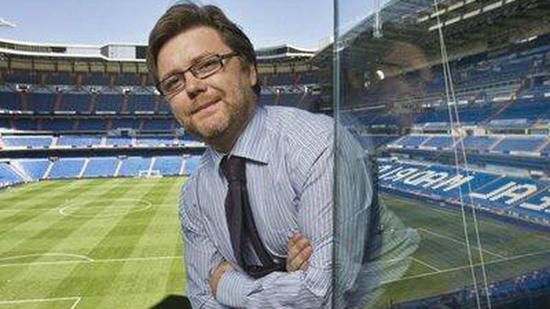 José Luis Sánchez, responsable del Área Social del Real Madrid