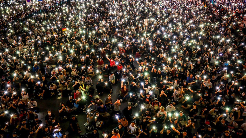 Una de las recientes manifestaciones de Tailandia. (EFE)