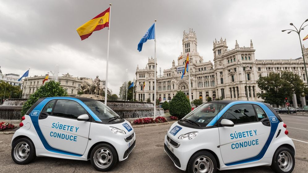 Foto: 350 smart eléctricos en Madrid
