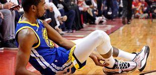 Post de La victoria más amarga de los Golden State Warriors por la lesión de Kevin Durant