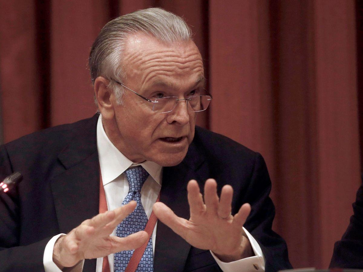 Foto: El presidente de la Fundación Bancaria la Caixa, Isidre Fainé. (EFE)