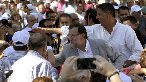 Rajoy sólo congrega a tres mil personas en el acto central de campaña de Albiol