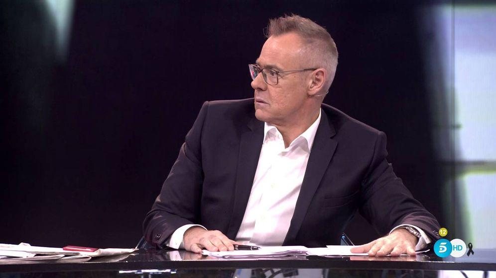 Foto: Jordi González en pleno debate de 'Mad in Spain'. (Mediaset España)
