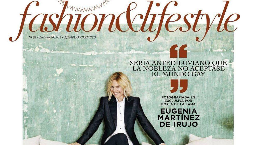 Noticias de Famosos: Eugenia Martínez de Irujo, una duquesa en la portada de Shangay
