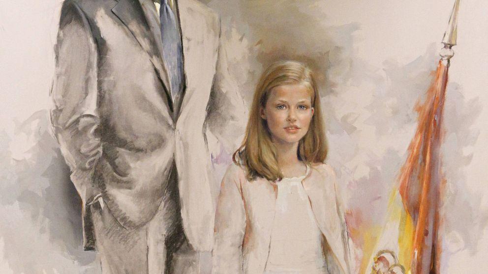 El primer retrato de Felipe con Leonor, al detalle: significado y simbología