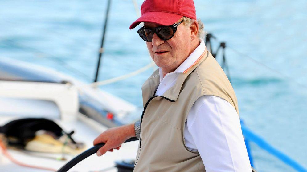 Foto:  El rey emérito, gran amante del mar. (Getty)