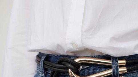 Con una camisa y un vaquero, este cinturón de H&M reduce dos tallas