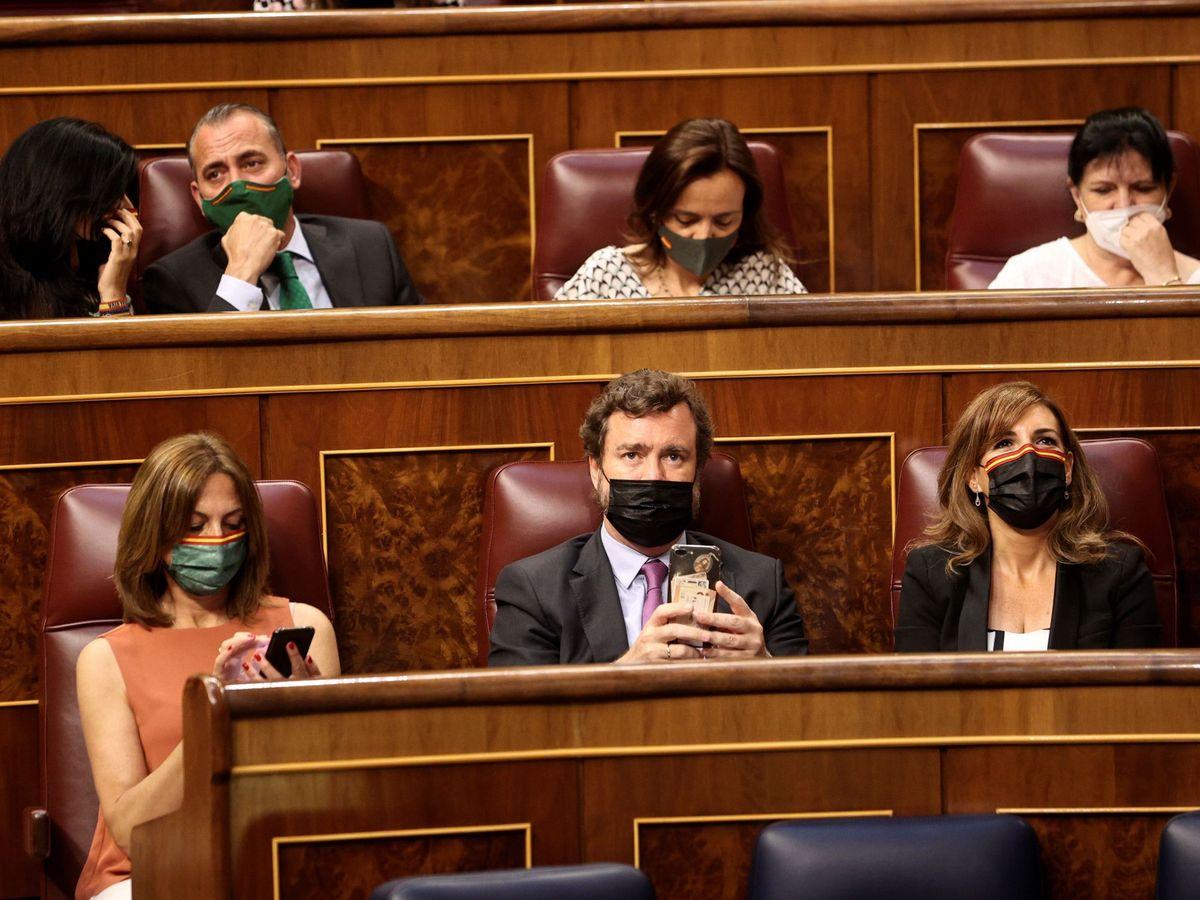 Foto: Pleno del Congreso de los Diputados en junio de 2021. (EFE)