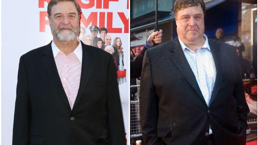 John Goodman, Carrie Fisher, Demi Lovato y otras pérdidas de peso espectaculares