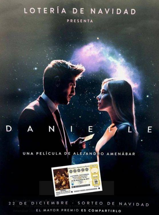 Foto: 'Danielle y Daniel' el anuncio de la Lotería de Navidad 2017 dirigido por Amenábar
