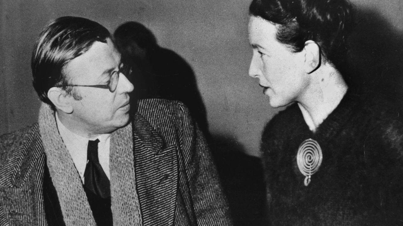 Foto: Los dos amores necesarios en 1945. (Cordon Press)