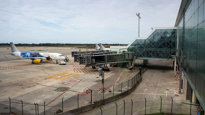 Obras de mejora en el aeropuerto de El Prat. (EFE)
