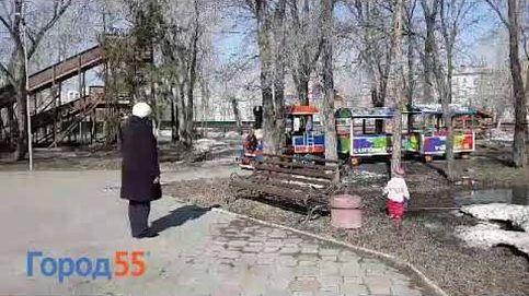 Un tren infantil pasea en Rusia al ritmo de Rammstein