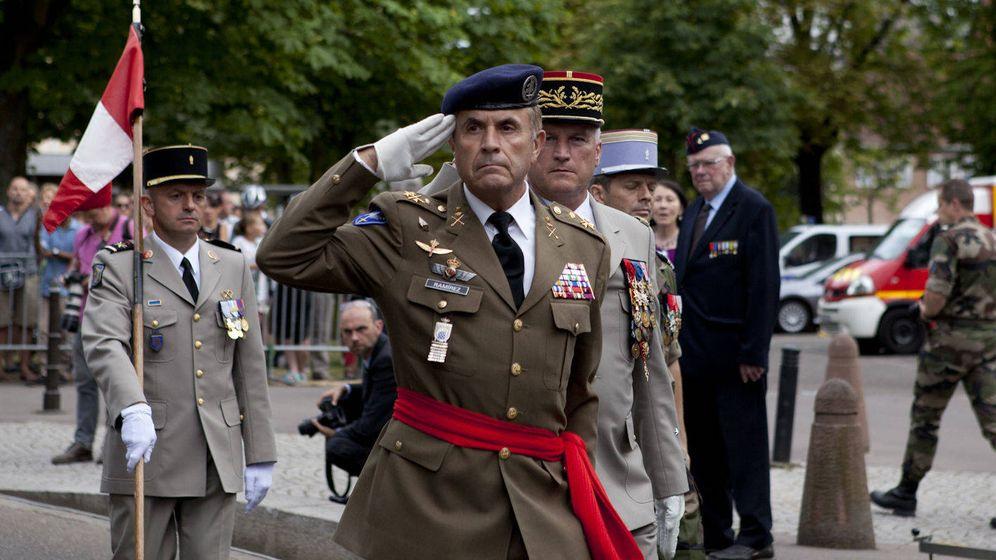 Foto: Primer acto del teniente general Alfredo Ramírez tras su toma de posesión como Jefe del Eurocuerpo. (Foto: emad.mde.es)