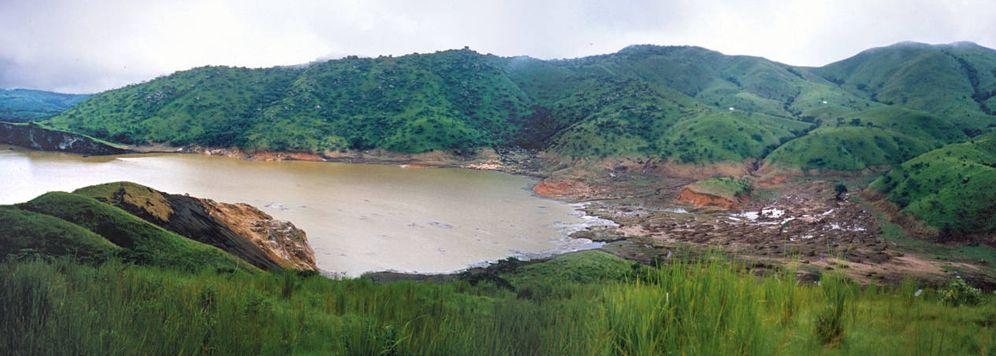 Foto: El lago Nyos en Camerún