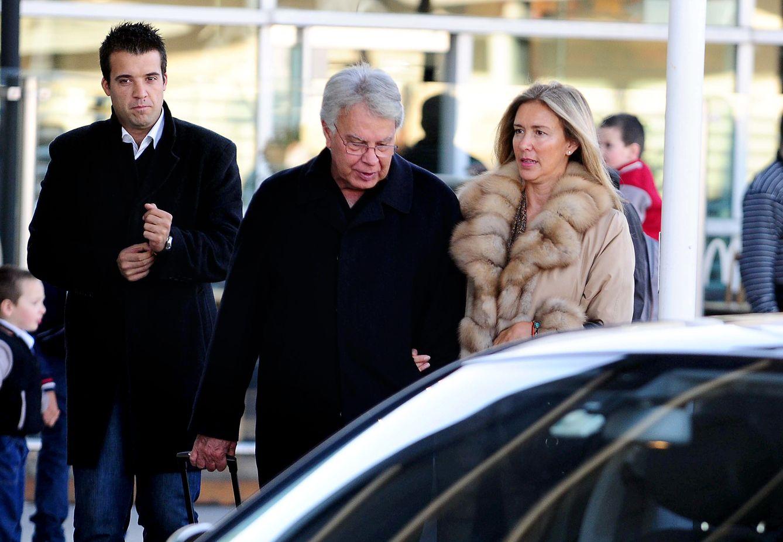 Foto: El expresidente y su mujer, en una imagen de archivo