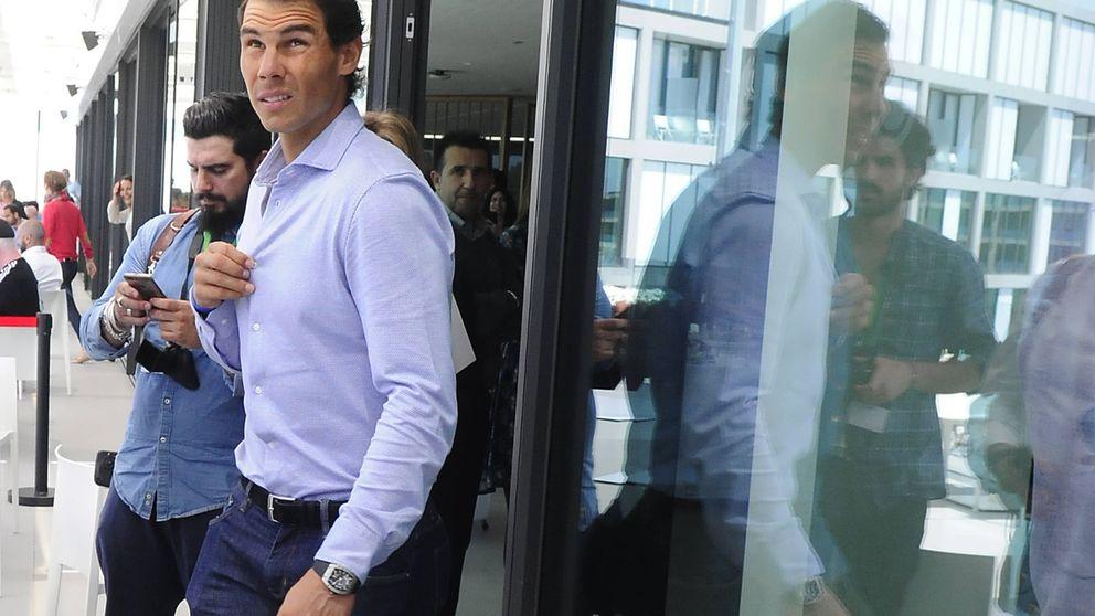 Rafa Nadal celebra su triunfo en el Open Madrid con un 'sarao' privado en Tatel