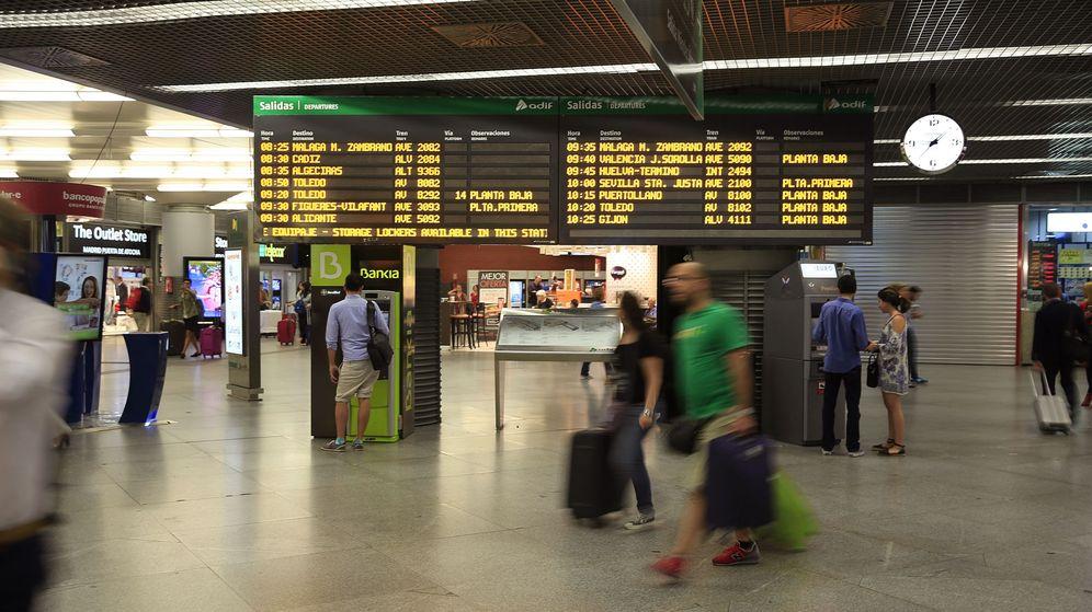 Foto: En la imagen, estación de Atocha, en Madrid. (EFE)