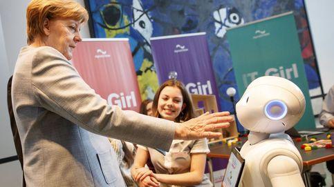 Merkel promueve el 'Día de las Jóvenes Alemanas'