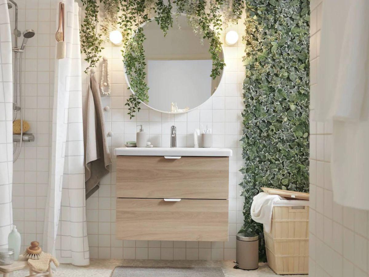 Foto: Un baño más ecológico con estos trucos de Ikea. (Cortesía)