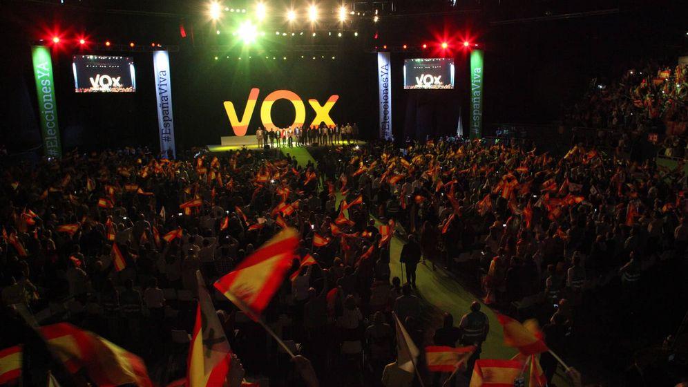 Foto: Imagen del acto de Vox celebrado este domingo en Madrid. (Flickr: Vox)