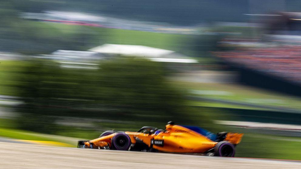 Alonso, con el pie en la tabla para chocar al final contra el mismo muro de siempre
