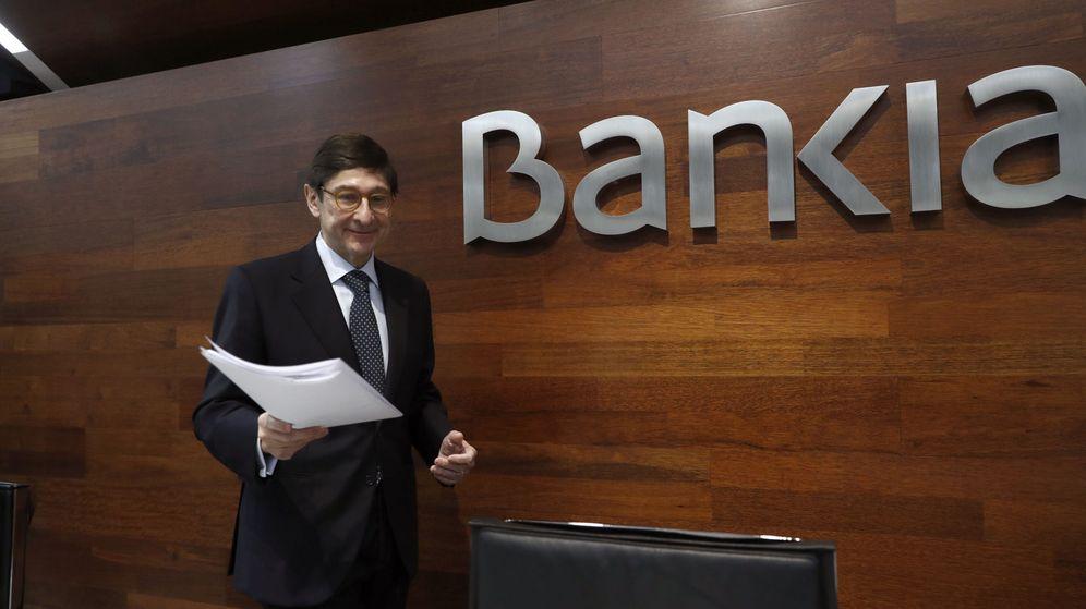 Foto: El presidente de Bankia, José Ignacio Goirigolzarri, en la presentación de los resultados de 2016. (EFE)