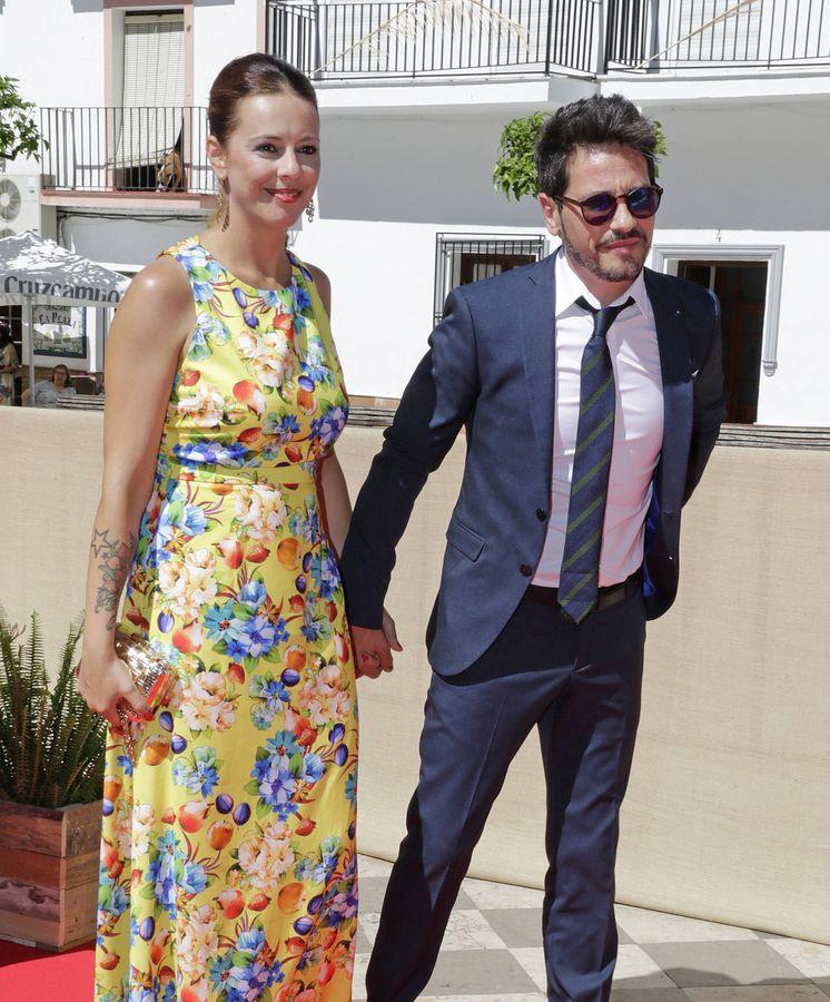 Foto: Lola Escobedo y David de María. (Gtres)
