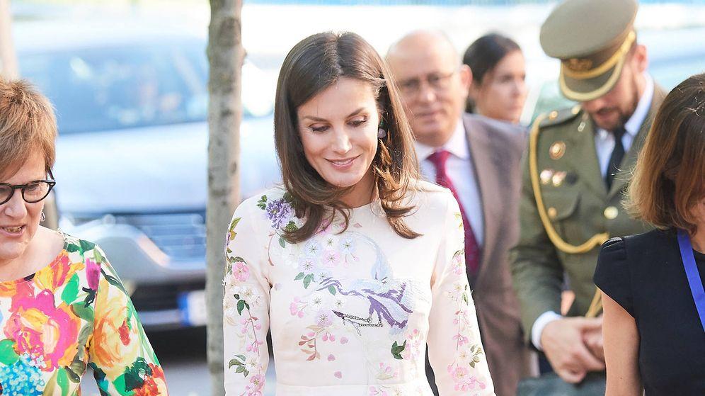 Foto: La Reina durante su aparición. (Limited Pictures)