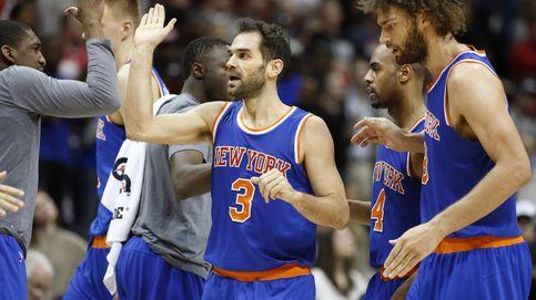 Detroit deja a los Knicks del recuperado Calderón con la miel en los labios