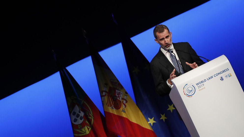Felipe VI: No es admisible apelar a una supuesta democracia por encima de la ley