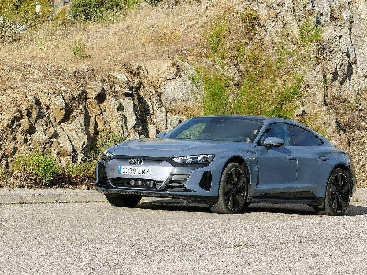 Foto: Audi marca el futuro de las berlina deportivas de lujo con el e-tron GT eléctrico.