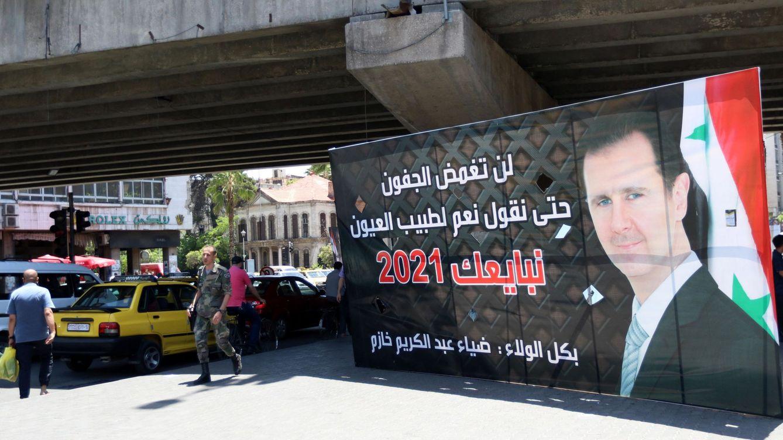 Al Asad es reelegido en los comicios presidenciales con un 95% de los votos
