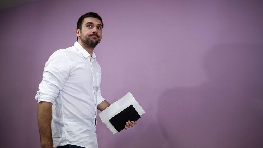 Foto: El parlamentario autonómico de Podemos Ramón Espinar. (Efe)