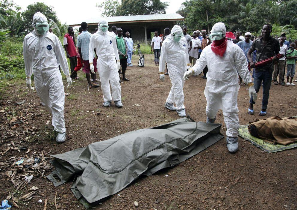 Foto: Los fallecidos por ébola en Monrovia aumentan (EFE)
