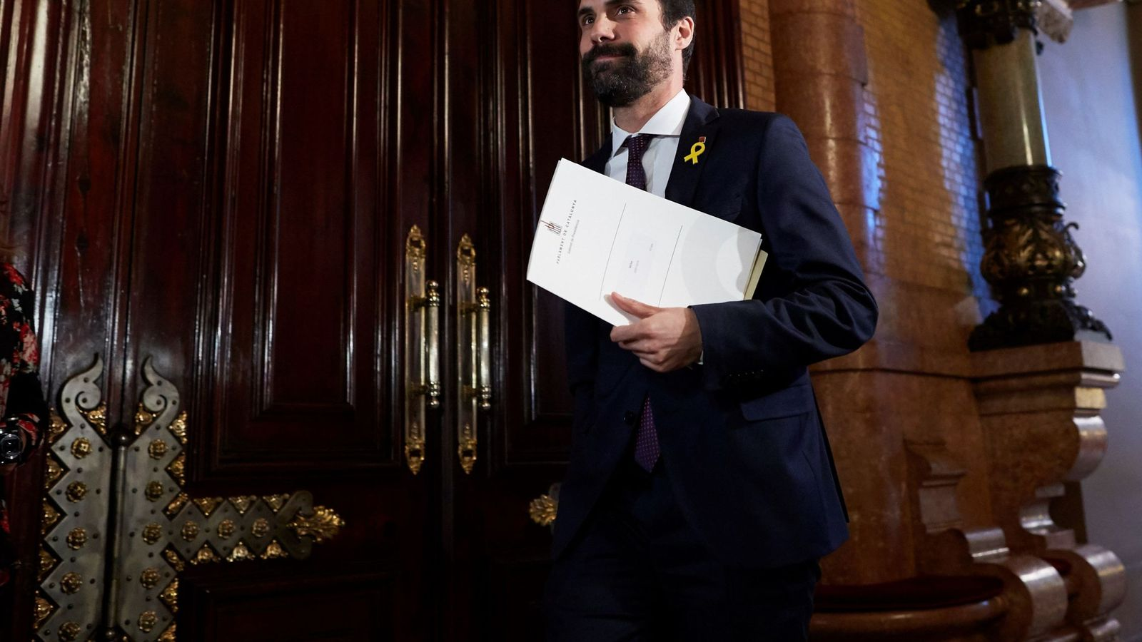 Foto: Roger Torrent, presidente del Parlament de Cataluña. (EFE)