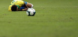 Post de Semana negra para Neymar: de la denuncia por violación, a la lesión de tobillo
