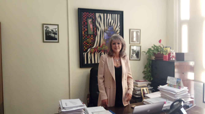 Inma Muñoz, secretaria de Organización del PSOE local y asesora en el ayuntamiento. (Foto: I. M.)