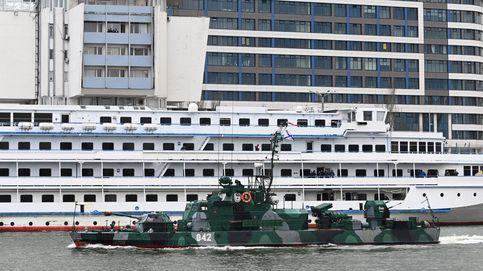 Rusia envía 15 buques del Caspio al mar Negro en medio de tensiones con EEUU