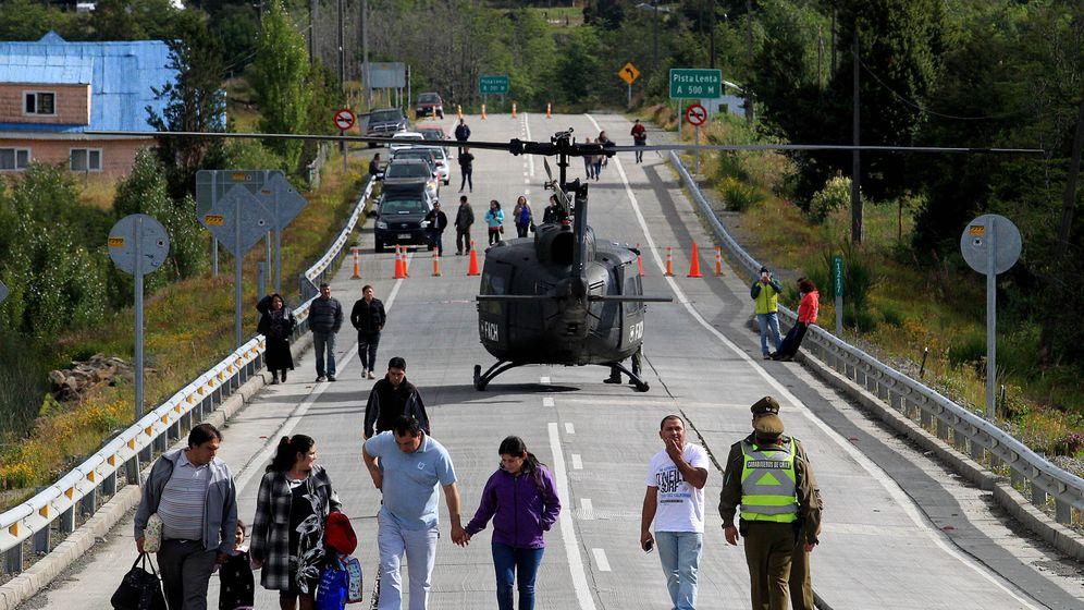 Foto: Imágen del fuerte terremoto que vivió Chile en el 2016. (EFE)