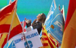 El PP intenta frenar a C's con una gran convención antiindependentista