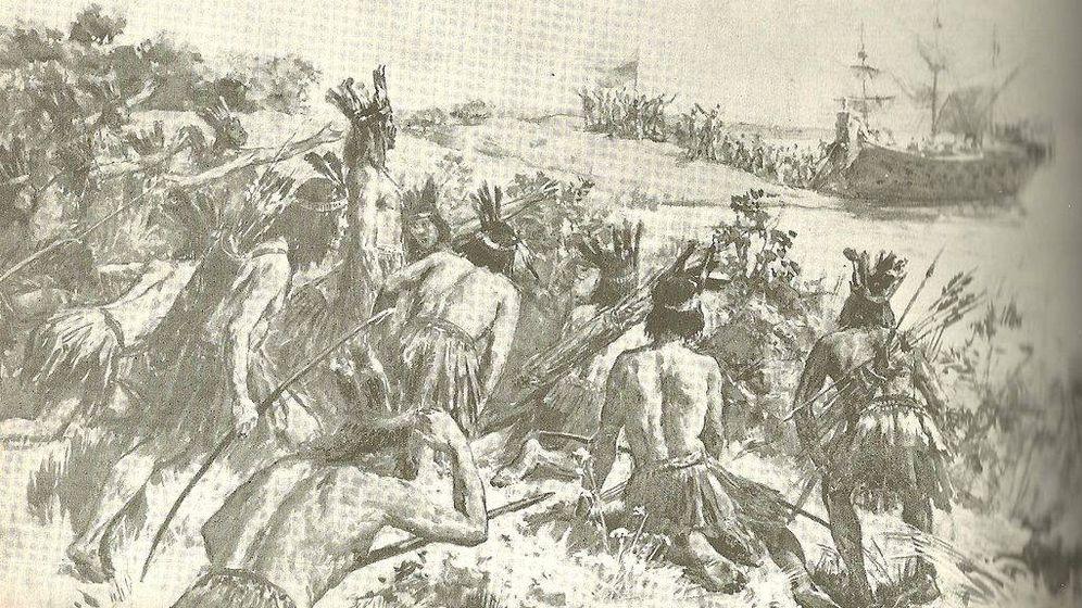 Foto: Descubrimiento de Río de la Plata. (Wikimedia Commons)
