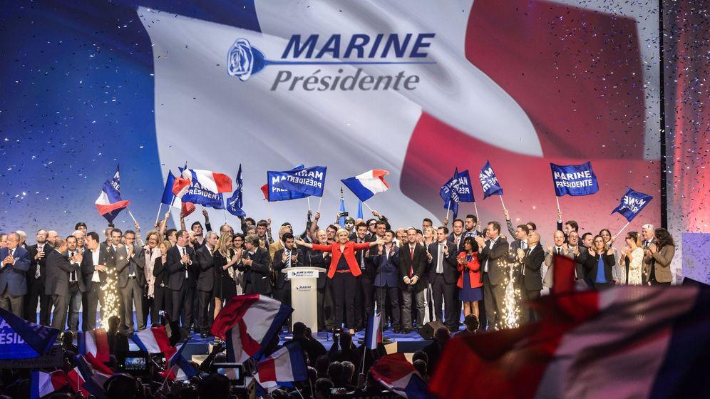 Foto: La líder y candidata del partido Frente Nacional (FN) a la presidencia de Francia, Marine Le Pen. (EFE)