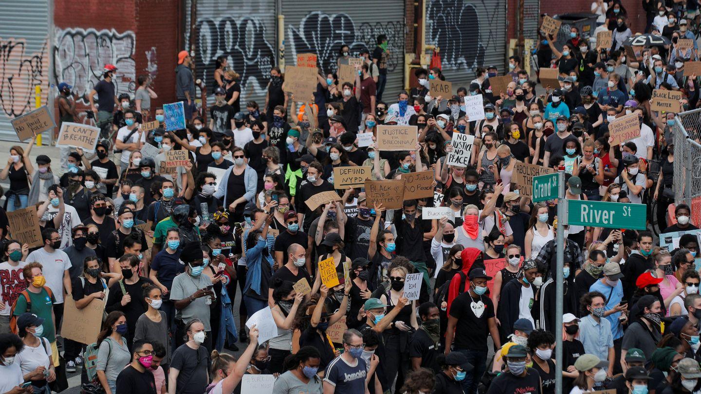 Protestas en Brooklyn (Reuters)