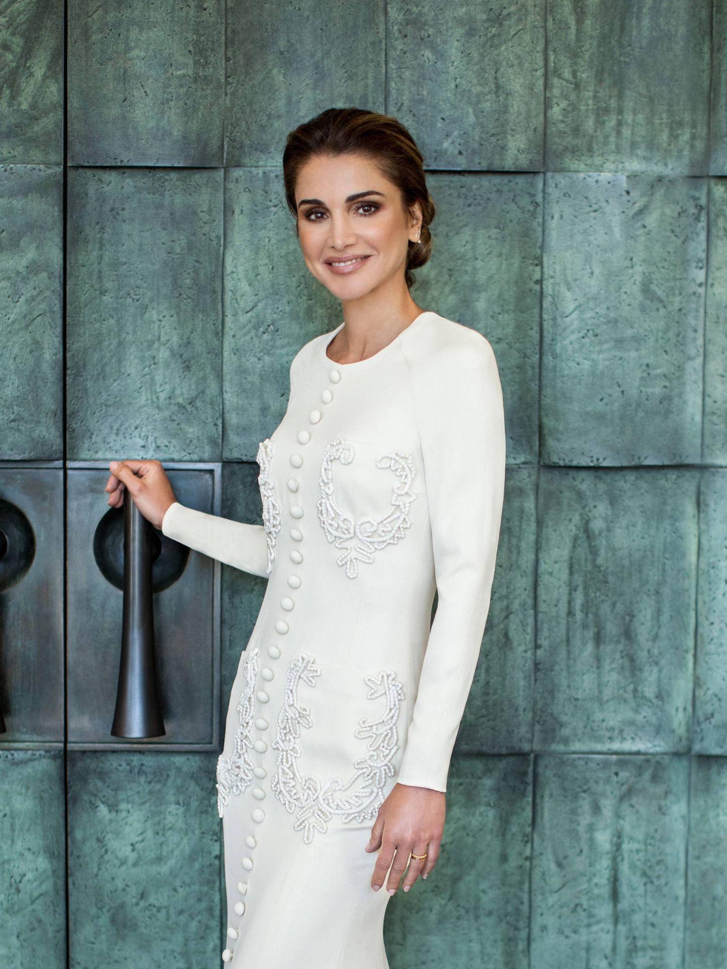 Rania de Jordania celebra su 50º cumpleaños. (Cordon Press)